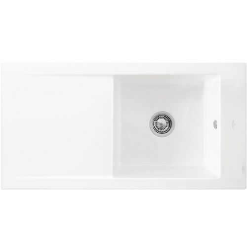 Villeroy and Boch Timeline 60 White Ceramic Plus Sink